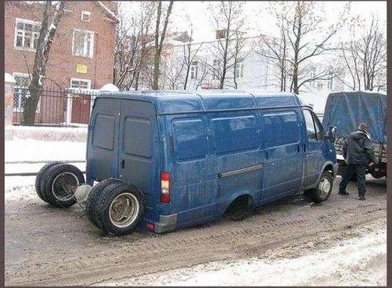 32507848 - Accidentes bizarros de coches