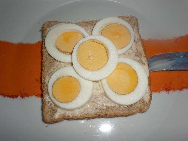 panconhuevo - ▷ Filetes de atún y huevos, en sándwiches