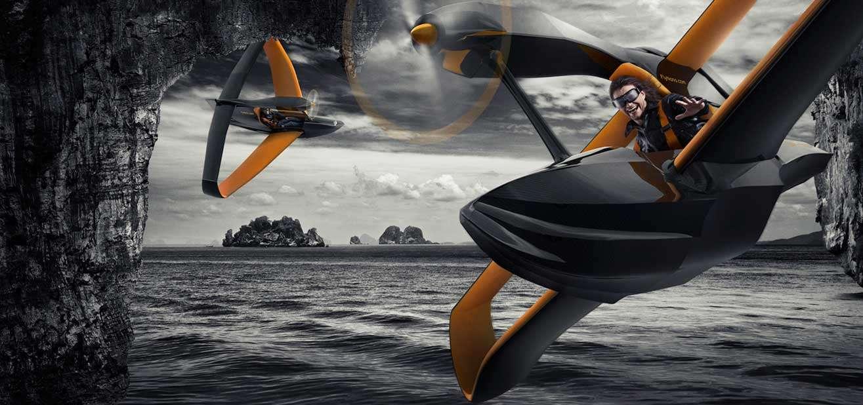 flynano00 - FlyNano, un económico hidroavión ultraligero con motor eléctrico