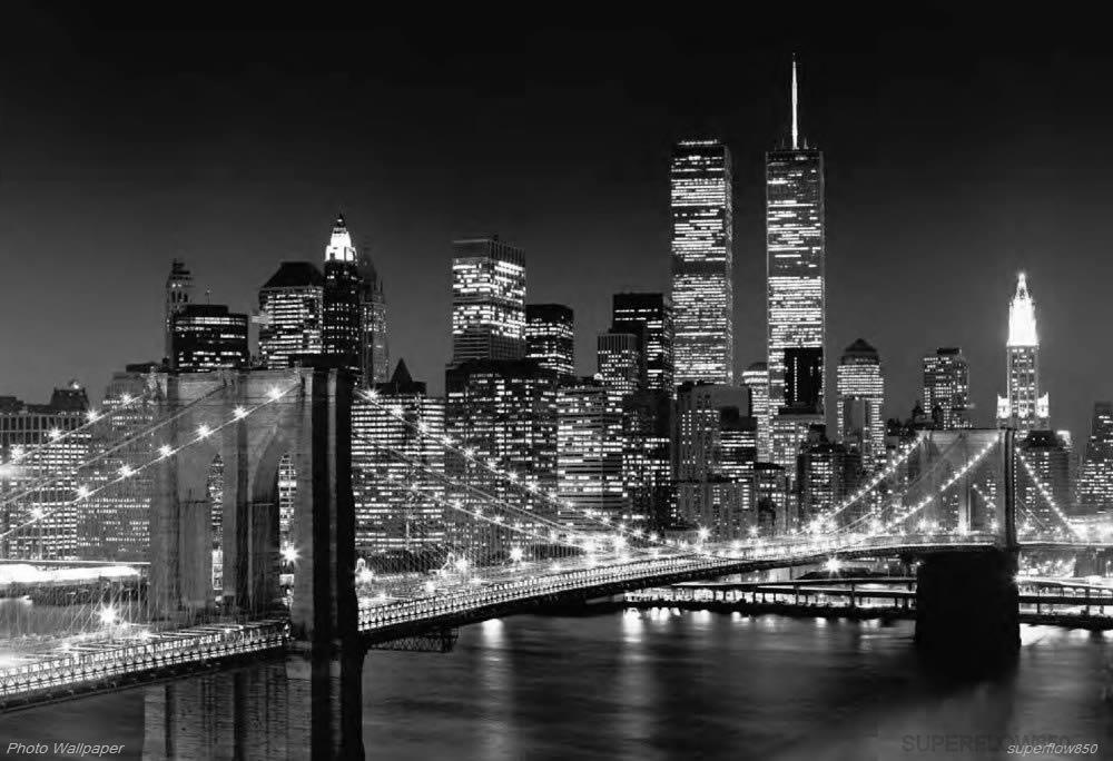 Brooklyn bridge wall mural photo wallpaper for Brooklyn bridge wallpaper mural