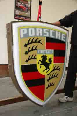 Vintage Porsche Signs Archive Early S Registry - Vintage porsche dealer